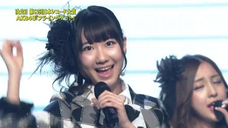 柏木由紀 第53回輝く! 日本レコード大賞 AKB48「フライング・ゲット」大賞受賞16