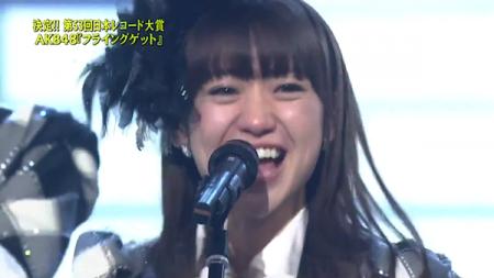 大島優子 第53回輝く! 日本レコード大賞 AKB48「フライング・ゲット」大賞受賞17