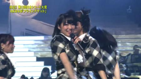 指原莉乃 第53回輝く! 日本レコード大賞 AKB48「フライング・ゲット」大賞受賞19