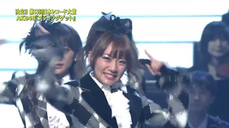 高橋みなみ 第53回輝く! 日本レコード大賞 AKB48「フライング・ゲット」大賞受賞20