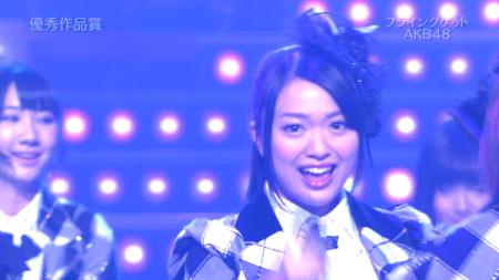 北原理恵 日本レコード大賞受賞前のAKB48のパフォーマンス「フライング・ゲット」13