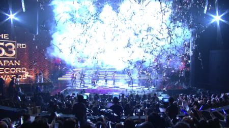 日本レコード大賞受賞前のAKB48のパフォーマンス「フライング・ゲット」5