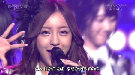 板野友美 日本レコード大賞受賞前のAKB48のパフォーマンス「フライング・ゲット」8
