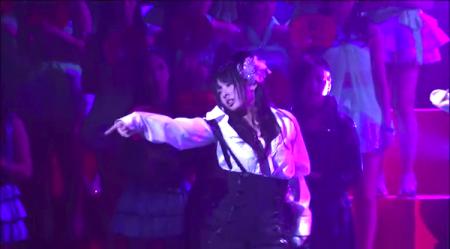 AKB48紅白対抗歌合戦「抱きしめられたら」NMB48 山本彩×山田菜々×渡辺美優紀6