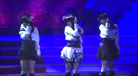 AKB48紅白対抗歌合戦「抱きしめられたら」NMB48 山本彩×山田菜々×渡辺美優紀8