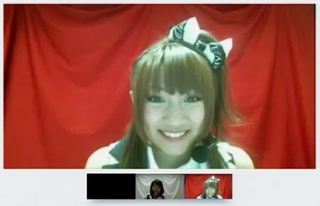 「AKB48紅白対抗歌合戦 Google+特典 ハングアウト反省会」より 高橋みなみさん