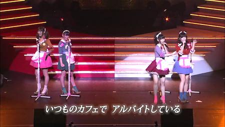 AKB48紅白対抗歌合戦「ペラペラペラオ」宮崎美穂×多田愛佳×柏木由紀×野中美郷1