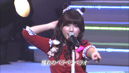 AKB48紅白対抗歌合戦「ペラペラペラオ」宮崎美穂×多田愛佳×柏木由紀×野中美郷7