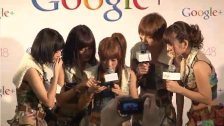 AKB48 Now on Google+ 2