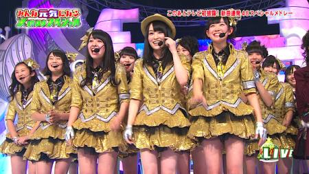 「純情U-19」 NMB48 HEY!HEY!HEY!で初披露1