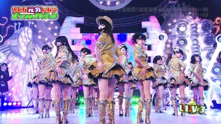 「純情U-19」 NMB48 HEY!HEY!HEY!で初披露8
