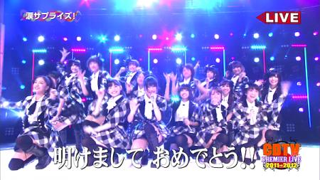 AKB48メドレー CDTVスペシャル!年越しプレミアライブ1