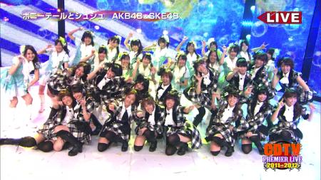 AKB48メドレー CDTVスペシャル!年越しプレミアライブ22