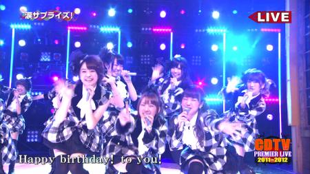 AKB48メドレー CDTVスペシャル!年越しプレミアライブ4