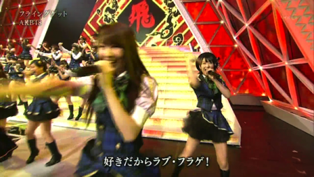 第62回紅白2011AKB48スペシャルMIX 25