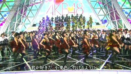 第62回紅白2011AKB48スペシャルMIX 36