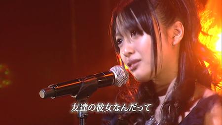 北原里英 AKB48紅白対抗歌合戦「唇触れず…」1
