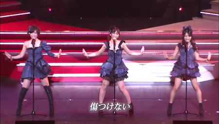 高城亜樹×宮澤佐江×北原里英 AKB48紅白対抗歌合戦「唇触れず…」5