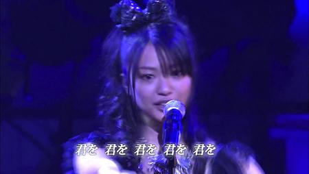 北原里英 AKB48紅白対抗歌合戦「唇触れず…」7