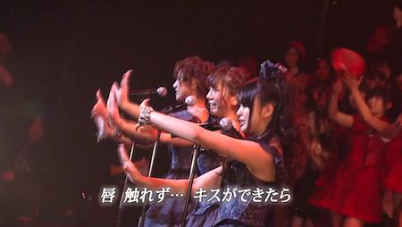 高城亜樹×宮澤佐江×北原里英 AKB48紅白対抗歌合戦「唇触れず…」8