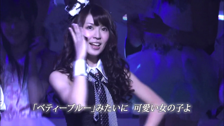 菊地あやか AKB48紅白対抗歌合戦「口移しのチョコレート」4