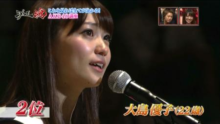 2位 大島優子さん
