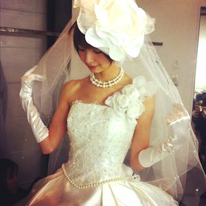 「Love Mary」篠田麻里子さんプロデュースのウエディングドレス