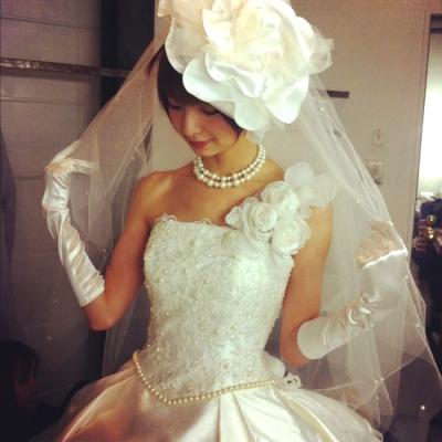 「Love Mary」篠田麻里子さんプロデュースのウエディングドレス発表