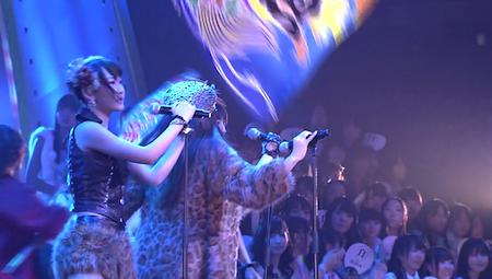 仁藤萌乃 河西智美 AKB48紅白対抗歌合戦「愛しきナターシャ」10