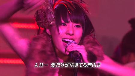 藤江れいな AKB48紅白対抗歌合戦「愛しきナターシャ」9