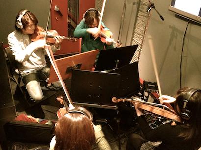 ヴァイオリン ダビングなう