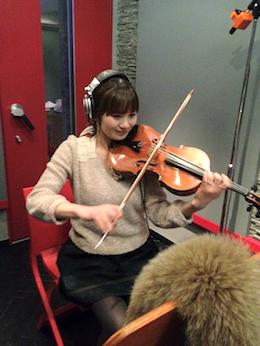 ヴィオラ奏者 島岡智子さん akb48 レコーディング