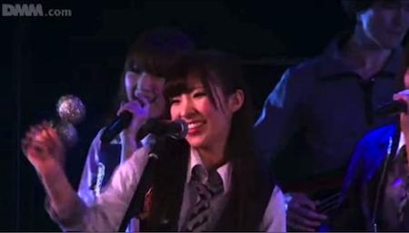 岩佐美咲 ドラマーはるごん「GIVE ME FIVE!」2月20日チームA公演4
