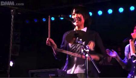 仲谷明香 ドラマーはるごん「GIVE ME FIVE!」2月20日チームA公演8