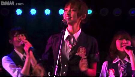 篠田真理子 ドラマーはるごん「GIVE ME FIVE!」2月20日チームA公演9