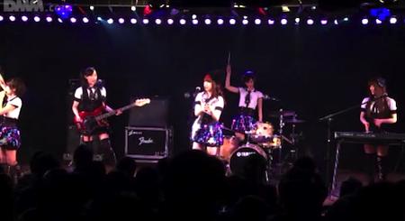 ベーシストしほりん誕生「GIVE ME FIVE!」2月24日チームB公演11