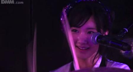 柏木由紀 ベーシストしほりん誕生「GIVE ME FIVE!」2月24日チームB公演7
