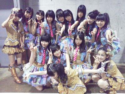 「NMB48」金子剛さんの google+より