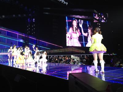 「チームBと渡辺美優紀さんのMC」戸賀崎智信さんの google+より15