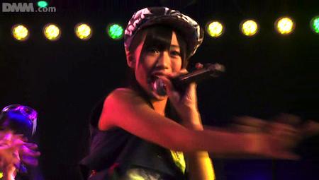 2012年2月20日チームA「目撃者」公演 「サボテンとゴールドラッシュ」の藤田奈那さん