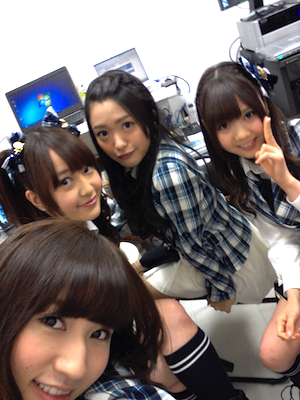 片山部長がAKB48CAFE SHOP HAKATA のプレオープンイベントに訪問1
