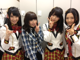 AKB48CAFE SHOP HAKATAでHKTの3人と撮ってもらったよん♪