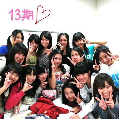 本日13期生の初公演「Reset」 がんばれ!! 先輩たちのエール2