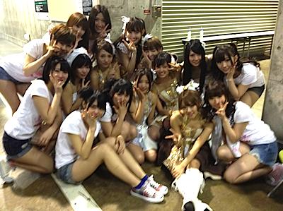 前田敦子さん 卒業発表後のチームA
