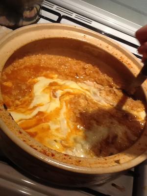 ワタ鍋 チーズリゾット3