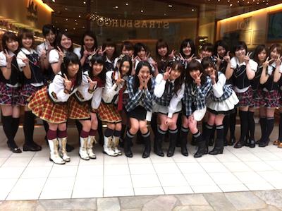 「AKB48カフェ&ショップ博多店」松岡菜摘さんの google+より