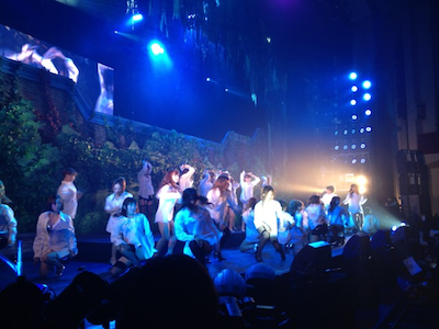 SDN48 卒業コンサート「NEXT ENCORE」戸賀崎智信さんの google+より2