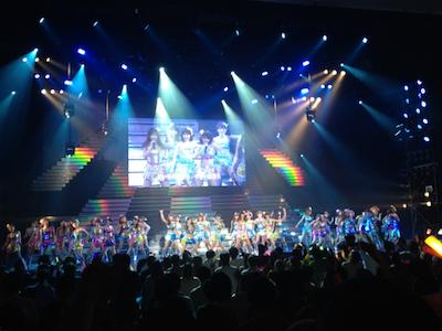 SDN48 卒業コンサート「NEXT ENCORE」戸賀崎智信さんの google+より49