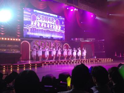 SDN48 卒業コンサート「NEXT ENCORE」戸賀崎智信さんの google+より8