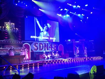 SDN48 卒業コンサート「NEXT ENCORE」戸賀崎智信さんの google+より9